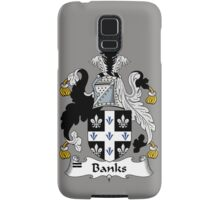 Banks Coat of Arms / Banks Family Crest Samsung Galaxy Case/Skin