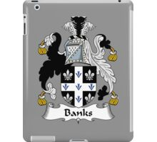 Banks Coat of Arms / Banks Family Crest iPad Case/Skin