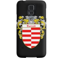 Barrett Coat of Arms/Family Crest Samsung Galaxy Case/Skin