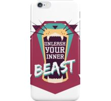 Unleash Your Inner Beast iPhone Case/Skin