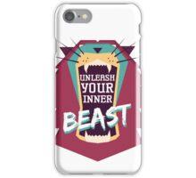 Unleash Your Inner Beast iPhone Case/Skin