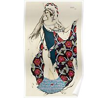 Costume design for a woman, from Judith Poster