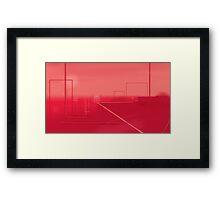 Red 3 Framed Print