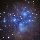 The Pleiades Cluster in Taurus by astrochuck