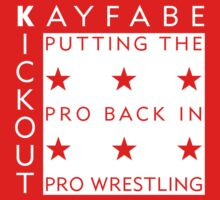 Kayfabe Kickout Superstar T-Shirt by KayfabeKickout1