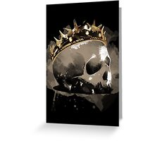 Long live the King! Greeting Card