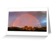 Veiled Rainbow Greeting Card