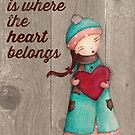 Home Is Where The Heart Belongs by bagofsecrets