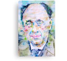 EUGENE IONESCO - watercolor portrait Metal Print