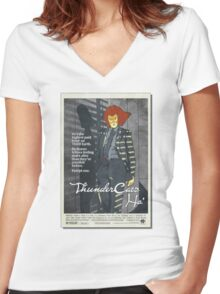 Thundercats Ho: American GigolHo Women's Fitted V-Neck T-Shirt