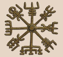 Vegvisir - Icelandic Magical Stave - Protection & Navigation  by nitty-gritty