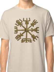 Vegvisir - Icelandic Magical Stave - Protection & Navigation  Classic T-Shirt