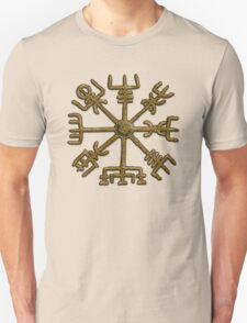 Vegvisir - Icelandic Magical Stave - Protection & Navigation  T-Shirt