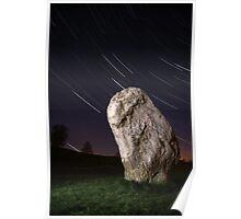 Night at Avebury Poster