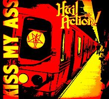 Hail Action - Kiss My Ass EP Cover Art by MickRoyale666