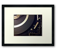 vinyl loyalist  Framed Print