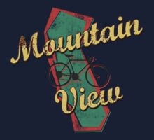 Bike Cycling Bicycle Mountain View California by SportsT-Shirts