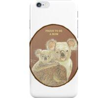 Koala Bears - Mama Bear and Baby Bear iPhone Case/Skin