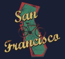 Bike Cycling Bicycle San Francisco California by SportsT-Shirts