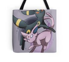 Umbreon and Espeon Tote Bag