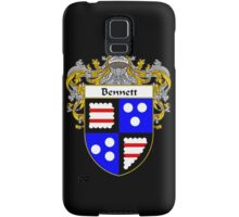Bennett Coat of Arms/Family Crest Samsung Galaxy Case/Skin
