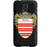 Berry Coat of Arms/Family Crest Samsung Galaxy Case/Skin