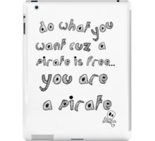 Yarr! iPad Case/Skin