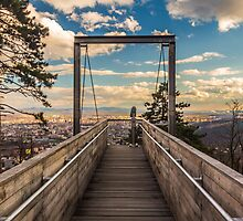 View over the city by LacoHubaty