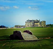The Swilcan Bridge, Old Course, St Andrews, Scotland by Pat Millar