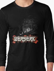 Berserk - Guts Glowing Eye Large w/o Brand Long Sleeve T-Shirt