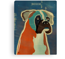 the boxer Canvas Print