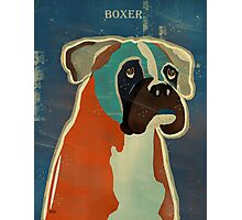 the boxer Photographic Print