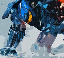 Pacific Rim: Gipsy Danger Poster by Colin Bradley