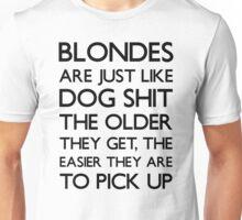 Funny Blonde Joke T Shirt Unisex T-Shirt