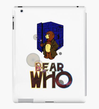 Bear Who? iPad Case/Skin