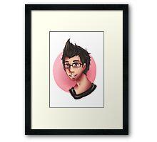 Marki-Bust Framed Print
