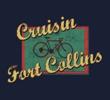 Bike Cycling Bicycle Fort Collins Colorado by SportsT-Shirts