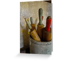 rolling pins Greeting Card