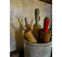 rolling pins Photographic Print