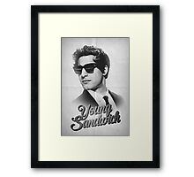 YOUNG SANDWICH Framed Print