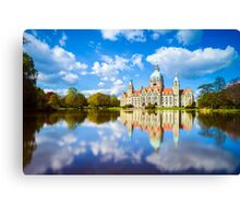 City Hall of Hannover Canvas Print