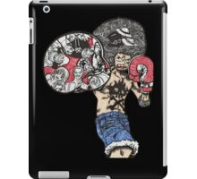 One Piece doodle without background iPad Case/Skin