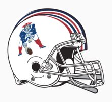 "NFL… Football ""HELMET"" New England Patriots by artkrannie"
