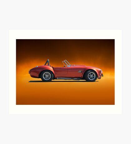 1966 Shelby 'Copperhead' Cobra Art Print