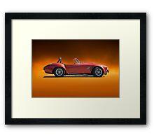 1966 Shelby 'Copperhead' Cobra Framed Print