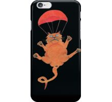 Parachute Cat from Random Acts of Catness iPhone Case/Skin