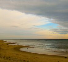 Beach under the Cloud by GleaPhotography