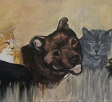 Furry Family by Caroline Johnston
