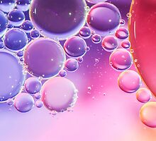 Abstract Bubbles by MMPhotographyUK