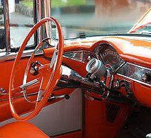 The Orange Chevy - the Interior.......! by Roy  Massicks